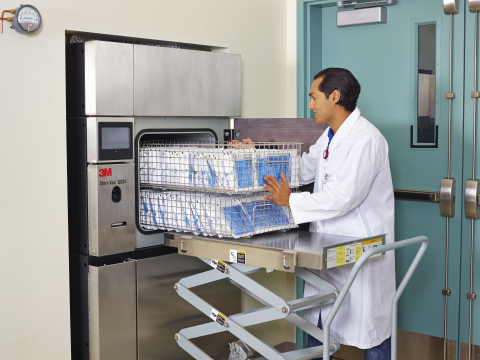 Companies that process small, high-value devices can benefit from the new 3M Steri-Vac Sterilizer/Ae ...