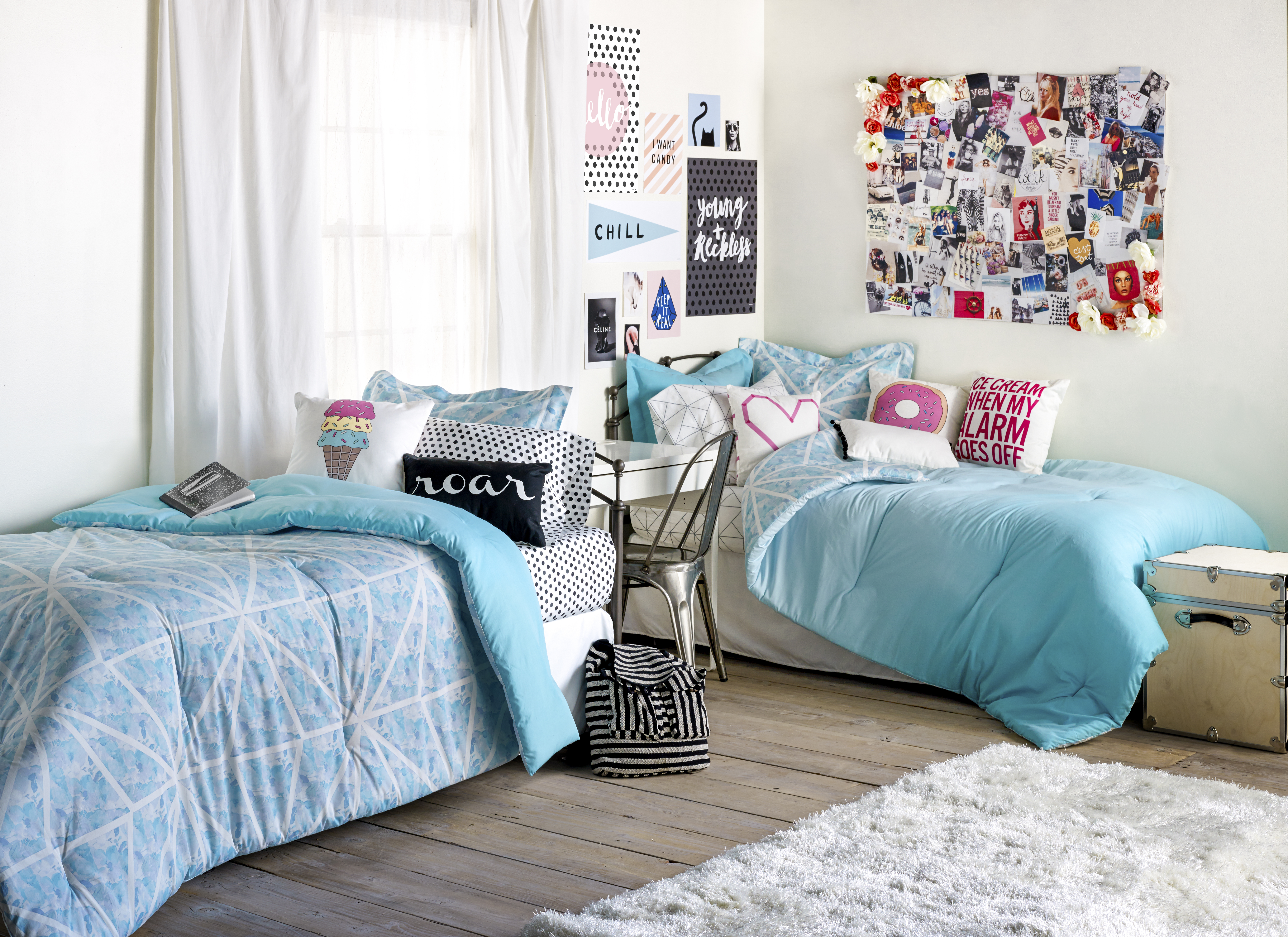 for pre children teens five bedding college pin years perfect your from dorm to their this bed