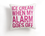 Macy's and online dorm retailer, Dormify, introduce exclusive bedding collection for back-to-school season; Dormify Ice Cream Decorative Pillow; select Macy's stores and macys.com (Photo: Business Wire)
