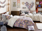 Macy's and online dorm retailer, Dormify, introduce exclusive bedding collection for back-to-school season; Dormify Reversible Willa Comforter Set; select Macy's stores and macys.com (Photo: Business Wire)