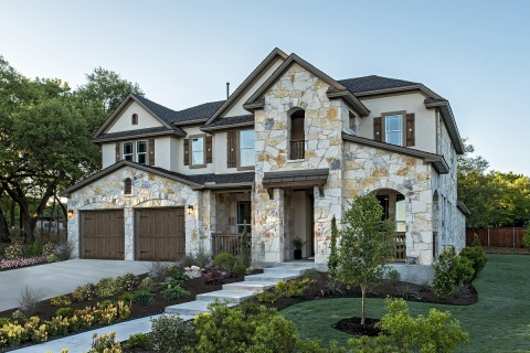 The 3,471 square foot model at KB Home's Forest Grove community in Round Rock. (Photo: Business Wire