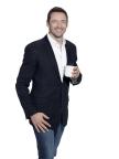 Hugh Jackman, Laughing Man Coffee. Photo: Warwick Saint