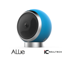 IC Real Tech's ALLie 360 x 360 degree video camera can be used for both in-home monitoring and mobile creation and sharing of immersive Virtual Reality action videos (Photo: Business Wire)