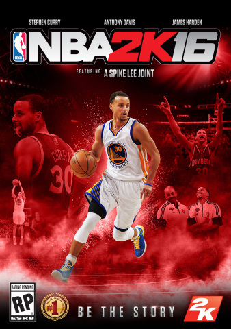 "This season has been an incredible journey for me and my teammates, and being selected as a cover athlete for NBA 2K16 is an amazing way to celebrate this year. It's a blessing to be named a member of this special group and I am honored."" – Stephen Curry, NBA's 2015 Most Valuable Player (Photo: Business Wire)"