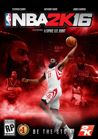 """""""Fans had a chance to get a glimpse of what I'm capable of this season, so I'm honored to be recognized as a cover athlete of NBA 2K16. I've dreamed of making it since I was a kid, and seeing myself on the cover is an incredible feeling."""" – James Harden (Photo: Business Wire)"""