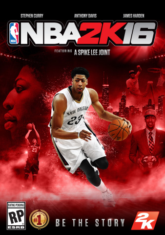 """""""I've enjoyed working with 2K the past few years and it's an honor to be selected for a cover of NBA 2K16. Just thinking about the players who have been on NBA 2K covers before me makes me feel humbled to be in such amazing company."""" – Anthony Davis (Photo: Business Wire)"""