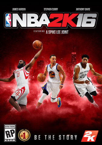 2K today announced that NBA 2K16, the next iteration of the top-rated NBA video game simulation series over the last 15 years*, will define the ultimate intersection of sports and pop-culture with three unique game covers from NBA All-Stars Stephen Curry, James Harden and Anthony Davis, as well as highlighting an all-new MyCAREER mode that was written and directed by acclaimed filmmaker Spike Lee. (Photo: Business Wire)