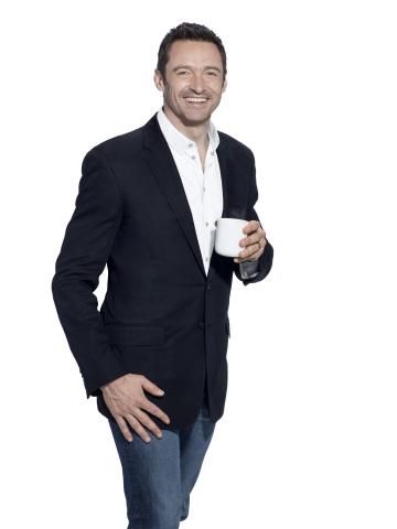 Hugh Jackman, Laughing Man Coffee. (Photo: Warwick Saint)