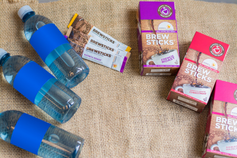 New BREWSTICKS Coffee Hurricane Preparedness Kit Now Available at BarniesCoffeeKitchen.com. Perfect instant coffee solution for for hurricane season - no power or brewer required. (Photo: Business Wire)