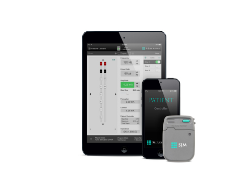 With the new Invisible Trial System, St. Jude Medical aims to allow patients to focus more on potential pain relief and therapeutic impact during their spinal cord stimulation trial period, and less on the trial system itself. (Photo: St. Jude Medical)