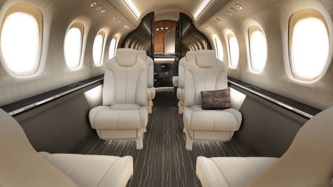 Cessna Citation Latitude cabin interior (Photo: Business Wire)