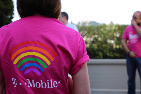 T-Mobile supports local LGBT Pride events in 20 states, launches 23 Diversity & Inclusion chapters nationwide. (Photo: Business Wire)