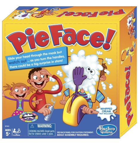 Hasbro to bring the hilarious and nail-biting PIE FACE game to families around the globe. (Photo: Business Wire)