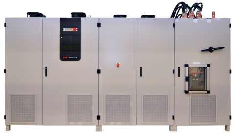 Protect SC. 600, storage converter for battery energy storage by AEG Power Solutions (Photo: Busines ...