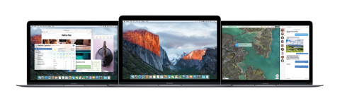 Apple announces OS X El Capitan, a new version of OS X that refines the Mac experience and improves system performance. (Photo: Business Wire)
