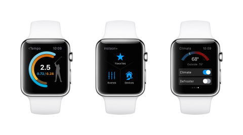 Apple previews new Apple Watch software and introduces native third-party apps. (Photo: Business Wire)