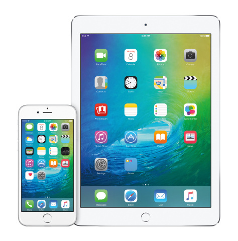 Apple previews iOS 9, bringing more intelligence to iPhone and iPad, new multitasking features to iPad, and more powerful built-in apps. (Photo: Business Wire)