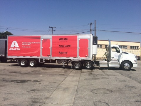 Axalta Coating Systems Powder North America expands its powder offering with a new delivery service in the Southern California area. (Photo: Axalta)