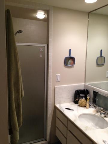 Bathroom: before (Photo: Kerrie Kelly)