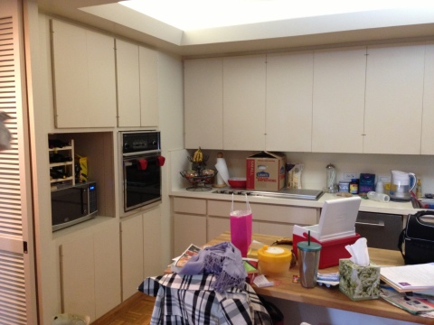 Kitchen: before 2 (Photo: Kerrie Kelly)