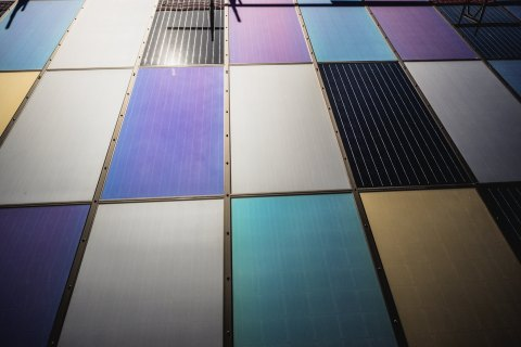 Emirates Insolaire Coloured Solar Panels (Photo: ME NewsWire)