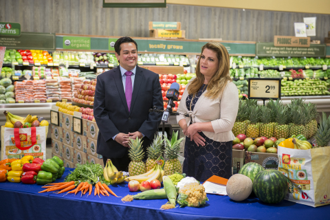 Carlos Illingworth, Director of Communications and Government Affairs for Vons, a Safeway Company an ...
