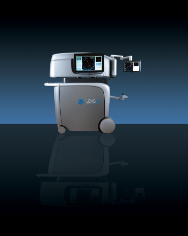 The LENSAR Laser System with Streamline is the first femtosecond laser cataract platform to enable automation of key surgical procedure planning and execution elements. (Photo: Business Wire)