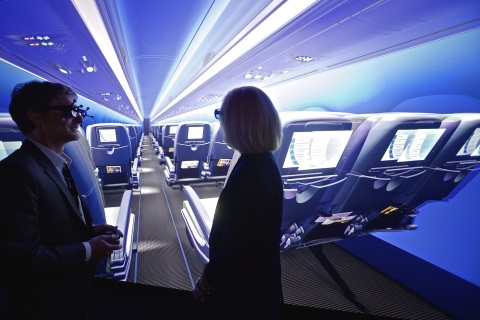 """Passenger Experience"" industry solution experience for the aerospace & defense industry (Copyright  ..."