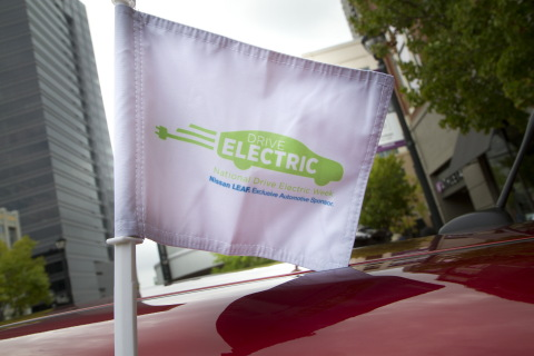 EV sales leader Nissan extends sponsorship of National Drive Electric Week through 2017 (Photo: Busi ...