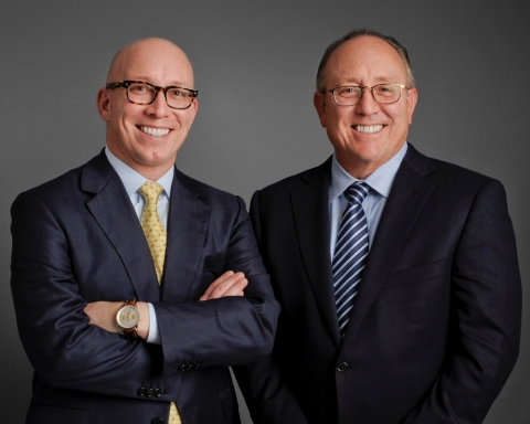 Matt Schreiber and Don Schrieber, Jr. of WBI (Photo: Business Wire)