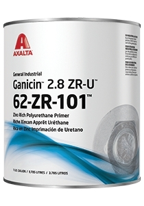 Axalta introduces Ganicin 2.8 ZR-U zinc-rich polyurethane primer for general industrial use. (Photo: ...
