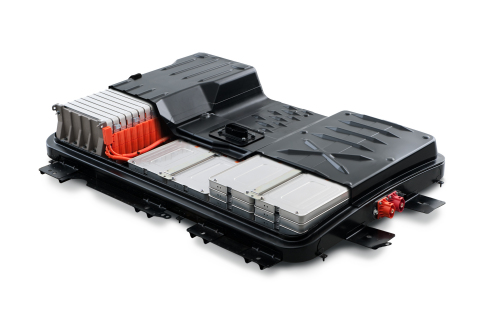 2015 Nissan LEAF battery pack (Photo: Business Wire)