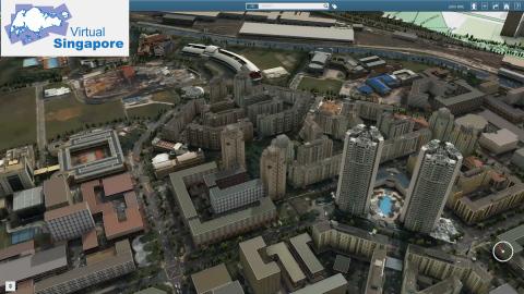 Virtual Singapore (Photo: Dassault Systèmes)