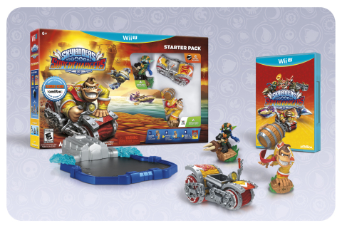 Both Donkey Kong and Bowser guest star in the next Skylanders game, Skylanders SuperChargers, complete with their own vehicles and move sets that celebrate the lore and legacy of their 30+ years in the video game universe. (Photo: Business Wire)