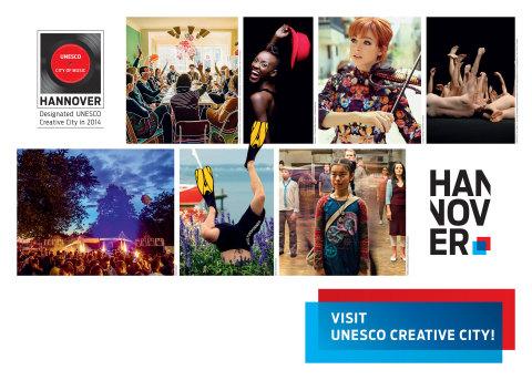 Hannover - UNESCO Creative City (Grafik: Business Wire)