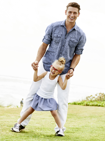 With a wide assortment of fashion and home gifts that will please any Dad, Macy's is the ultimate Father's Day gift destination; INC International Concepts Woven Shirt, $65 (Photo: Business Wire)