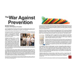 """The War Against Prevention"" by AHF President Michael Weinstein (Graphic: Business Wire)"