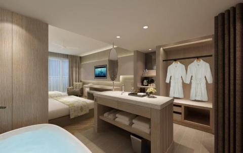 Deluxe Ocean Twin bed room (Photo: Business Wire)
