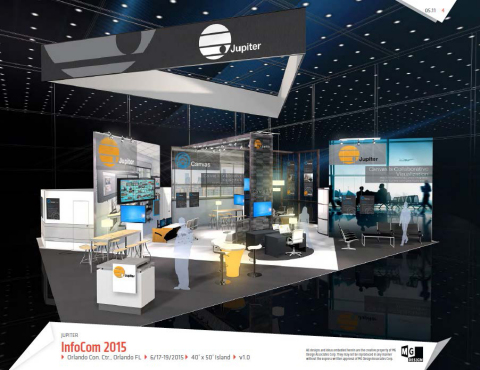 Jupiter Systems debuts fully redesigned booth at InfoComm 2015 to reflect company's expanded enterprise focus. (Photo: Business Wire)
