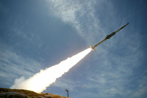 GQM-163A Coyote launches as part of a routine test (Photo: Business Wire)