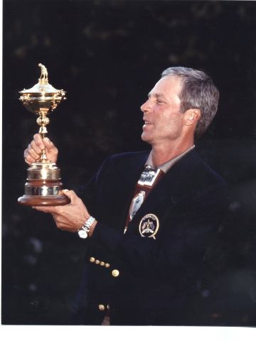 Two-time Masters and Ryders Cup Champion Ben Crenshaw. (Photo: Business Wire)