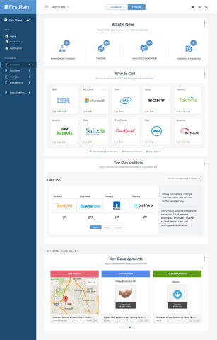 FirstRain Orion Release features a new flexible and dynamic architecture that is simple to deploy into any enterprise solution. (Graphic: Business Wire)
