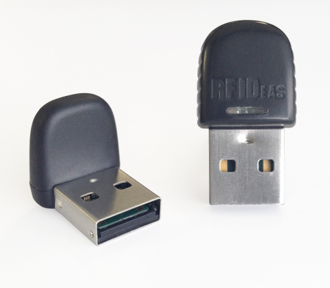 pcProx(R) Nano垂直與水平識別證讀卡器(照片:美國商業資訊)