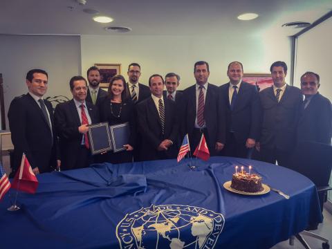 Representatives from United States Trade and Development Agency (USTDA), Kayseri ve Civarı Elektrik  ...