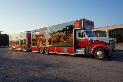 Wells Fargo's Mobile Response Unit is in Houston to help customers impacted by the flooding in Texas. Wells Fargo specialists will provide mortgage assistance, housing recovery assistance and other services for customers experiencing financial hardships as a result of the flooding. -- photo courtesy of Wells Fargo