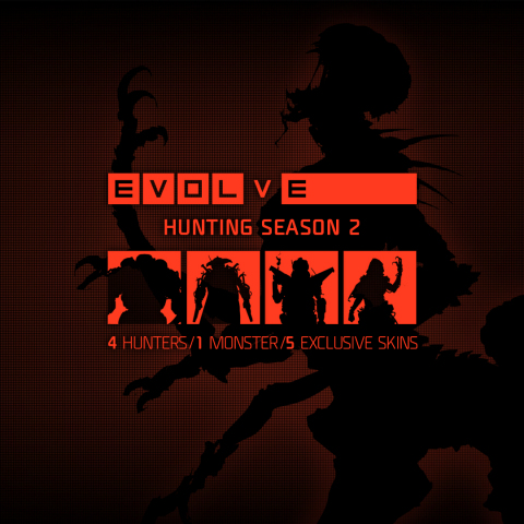 Caption: 2K and Turtle Rock Studios announced today that one new Monster and four new Hunters are coming to Evolve™, the 4v1 shooter in which four Hunters cooperatively fight to take down a single-player controlled Monster. (Photo: Business Wire)