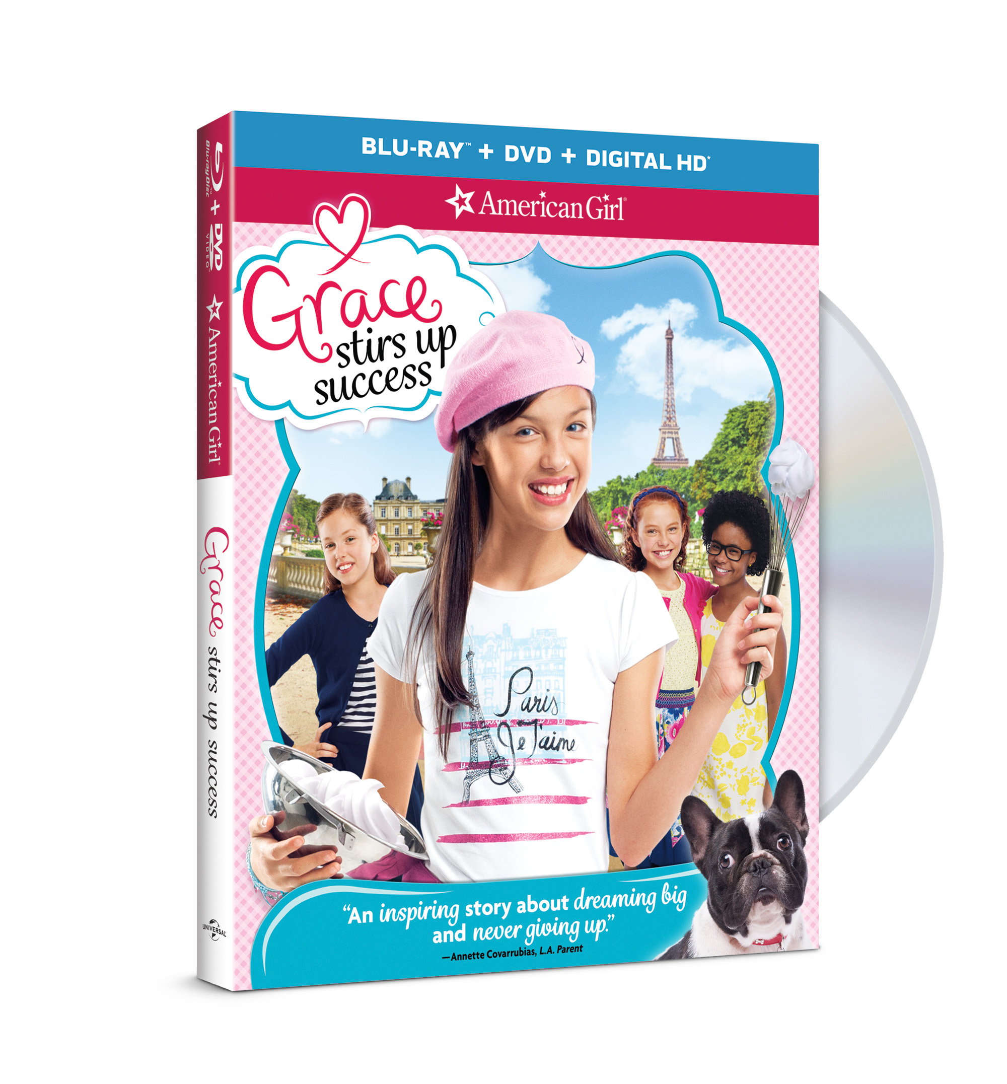 "All American Girl Movie american girl's 2015 girl of the year® ""whips"" up fun in all"