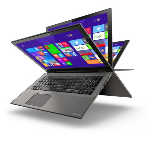 Toshiba Satellite Radius (Photo: Business Wire)