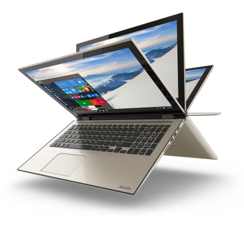 Toshiba Satellite Fusion (Photo: Business Wire)