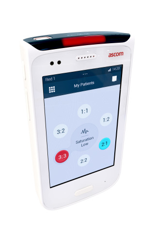 Ascom Myco - Purpose built for the nurse (Photo: Business Wire)